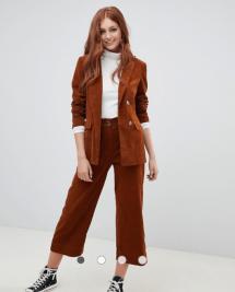 ASOS Rust Corduroy Suit